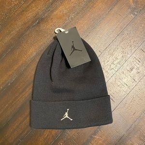 Jordan Black Knit Hat